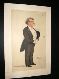 Vanity Fair Print 1886, Lord Ellenborough, Legal